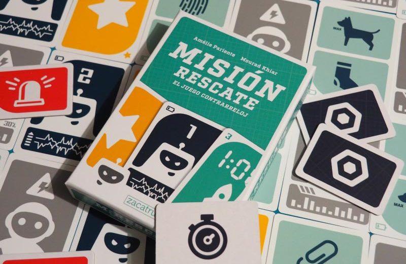 Misión Rescate, el juego de mesa contrarreloj en el espacio