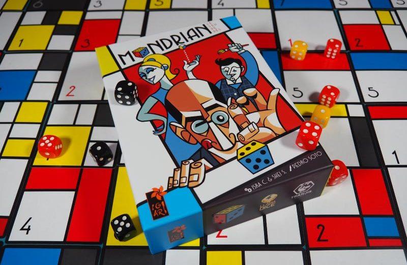 Mondrian: The Dice Game, el juego de mesa vanguardista