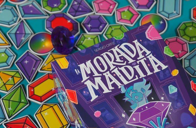 La Morada Maldita, el juego de mesa de la joya mágica