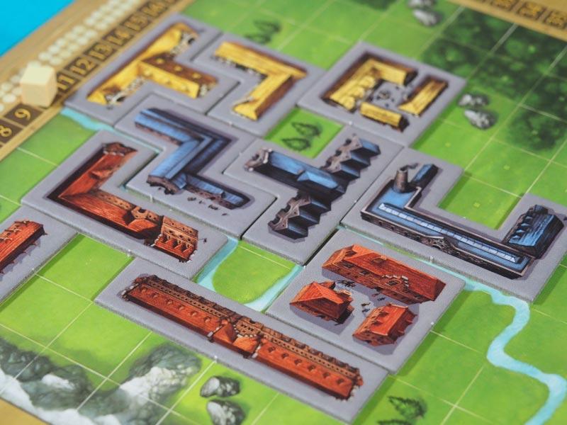 Detalle de un tablero de juego de My City