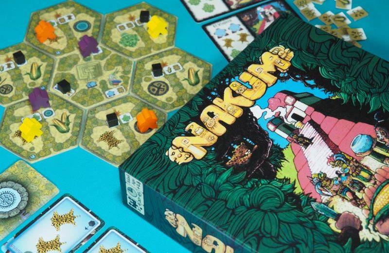 Nakum, el juego de mesa de la civilización Maya