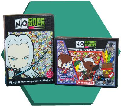 Portada de No Game Over y su expansión