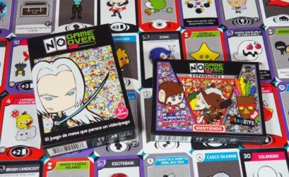No Game Over, el juego de mesa que parece un videojuego