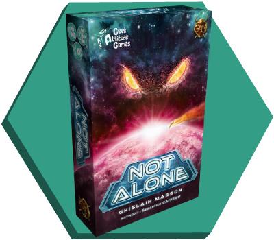 Portada de Not Alone