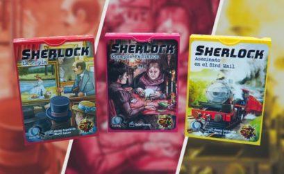 Nuevos casos para la saga Sherlock de la editorial GDM Games