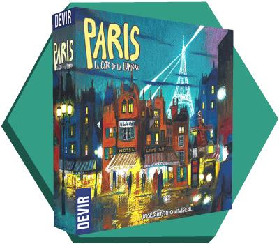 Portada de Paris, La Cité de La Lumière