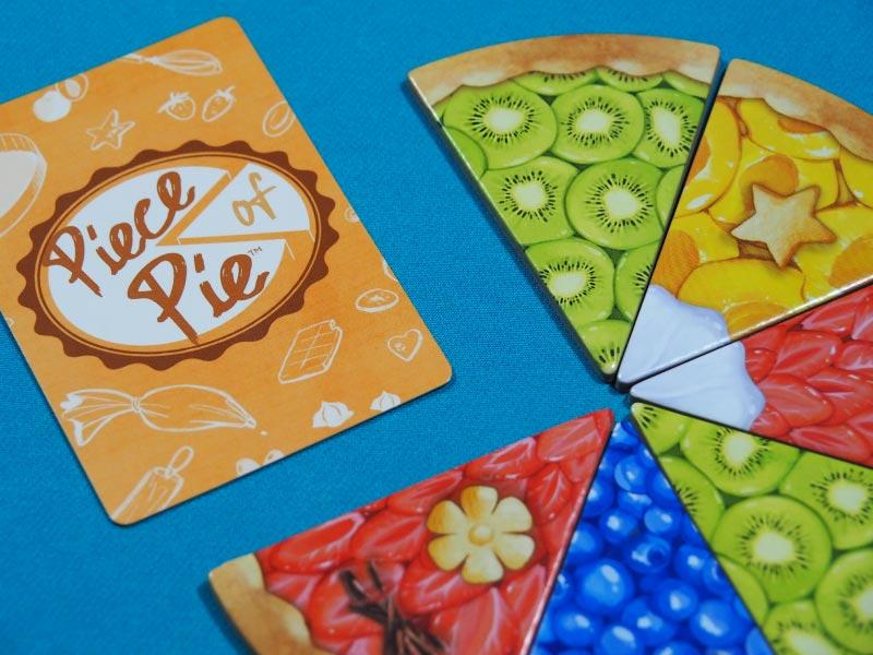 Detalle del juego de mesa Piece of Pie