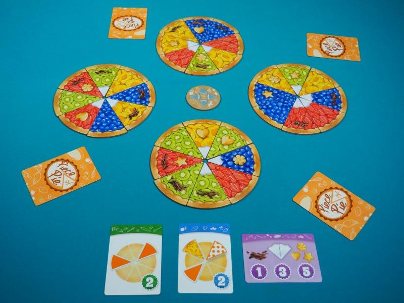 Tartas listas para jugar a 4 jugadores