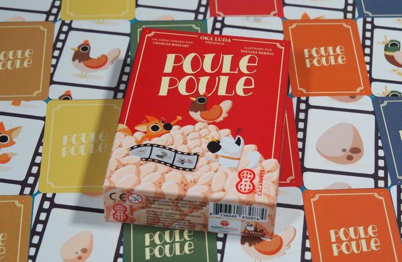 Poule Poule, juego de mesa que revoluciona el gallinero