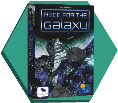 Portada de Race for the Galaxy
