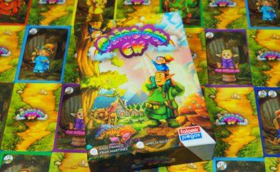 Creando colores o robándolos del bosque mágico para formar el arcoíris