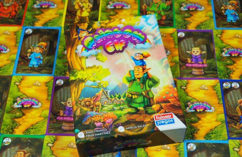 Rainbow Elf, el juego de mesa en busca de los 7 colores