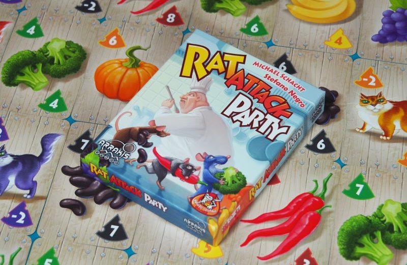 Rat Attack Party, un juego de mesa para robar comida