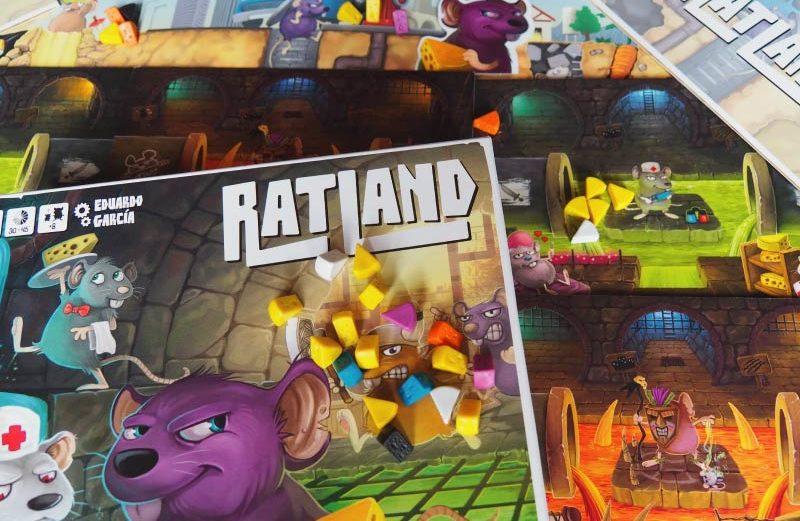 Quesos, paneles y mucha diversión en el juego de mesa RatLand