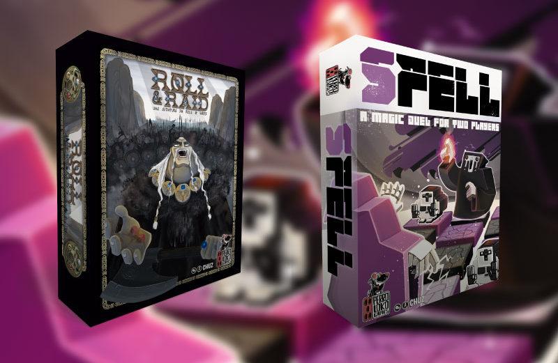 SPELL y Roll & Raid, lo nuevo de Perro Loko Games