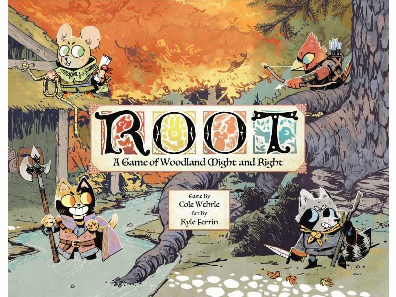 Portada del juego de mesa Root de 2 Tomatoes Games