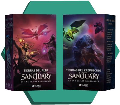 Portadas de Sanctuary: La Era de los Guardianes
