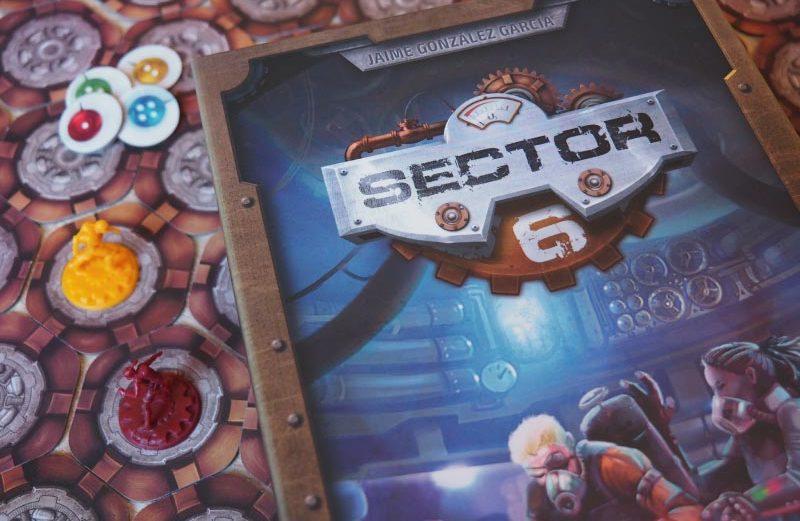 Sector 6, el juego de mesa donde competirás por respirar