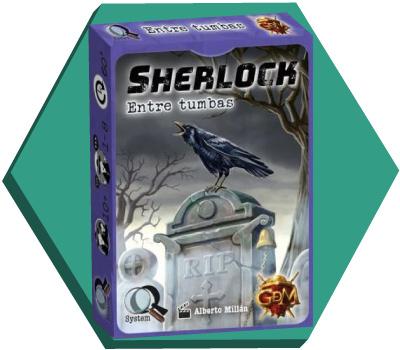 Portada de Sherlock: Entre tumbas