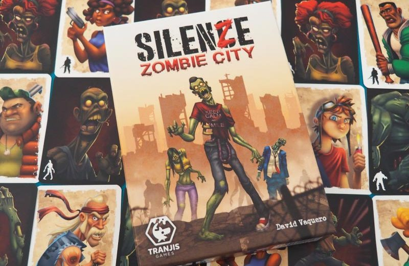 SilenZe: Zombie City, juego de mesa con batallas apocalípticas