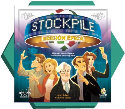 Portada de Stockpile Edición Épica
