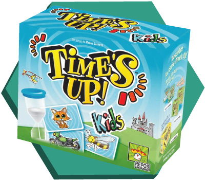 Portada de Time's Up Kids