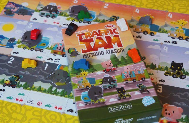 Traffic Jam, el juego de mesa del salvaje atasco