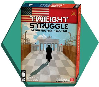 Portada de Twilight Struggle
