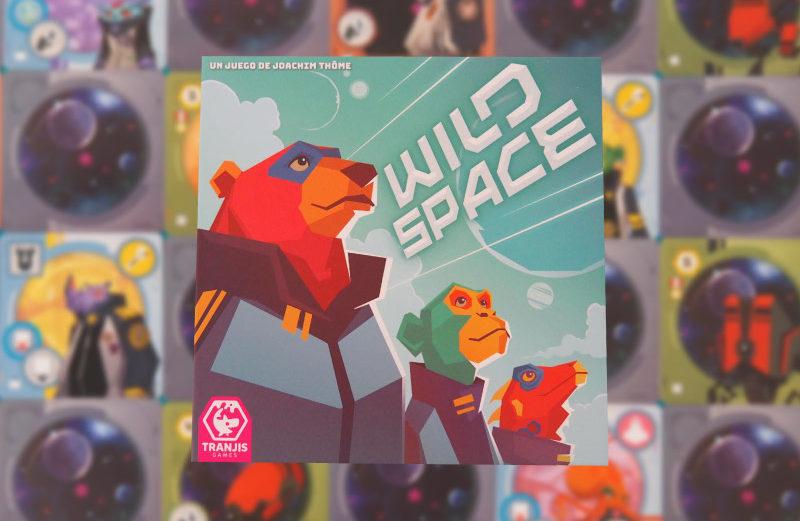 Wild Space, un juego de mesa de exploración galáctica animal