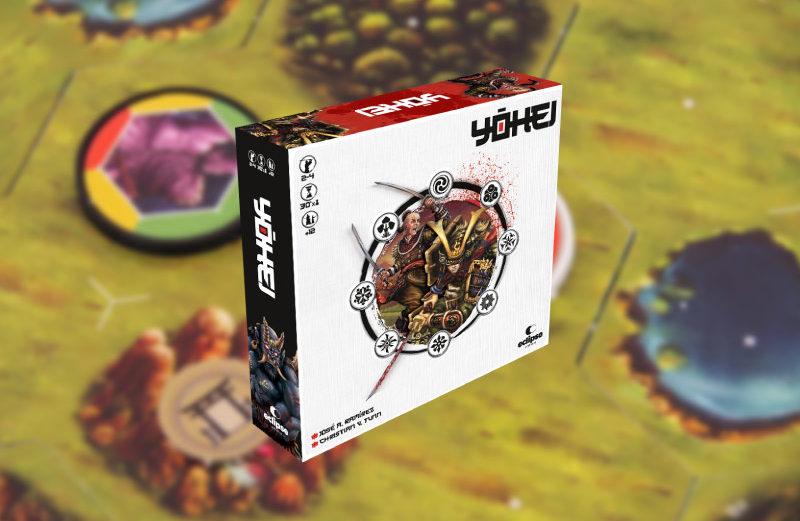Yohei, el juego de mesa en el que luchar por la gloria de Jiin