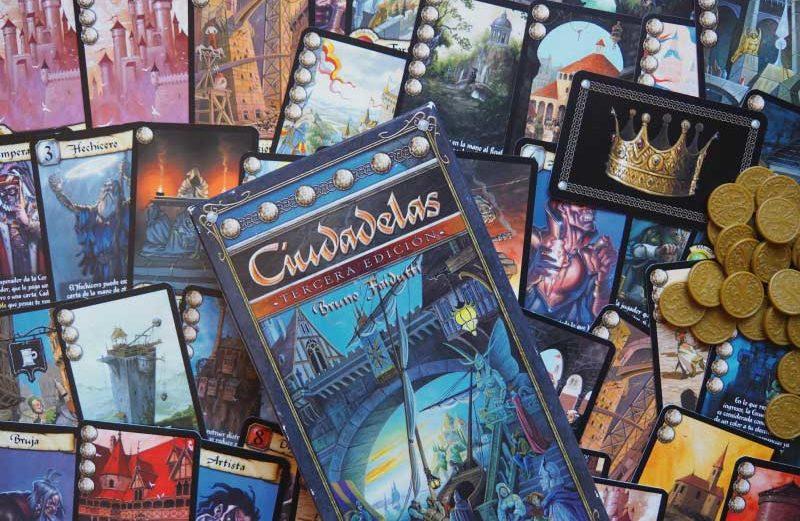 Ciudadelas, el juego de mesa donde construir la ciudad ideal