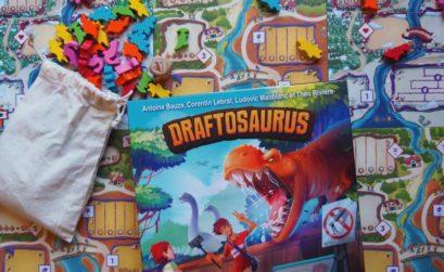 Draftosaurus, el nuevo juego de mesa de Zacatrus