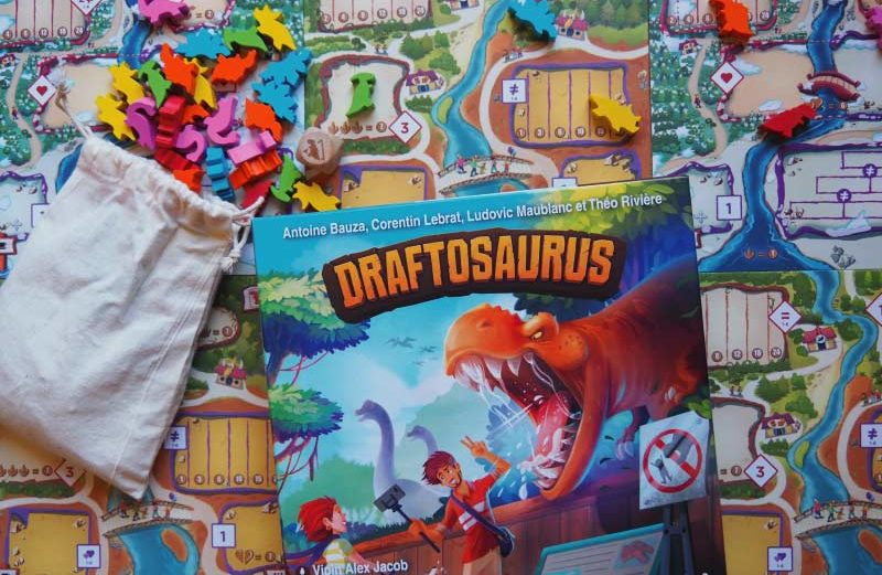 Draftosaurus, el juego de mesa donde crear nuestro zoo