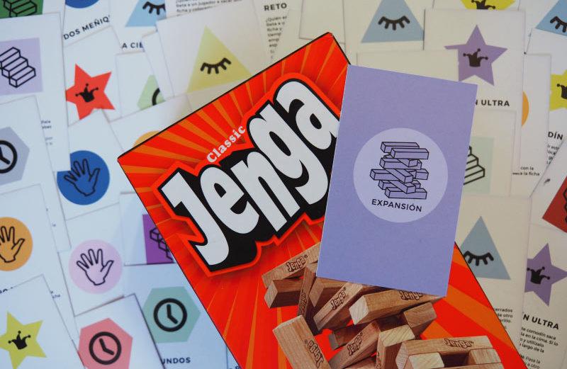 Expansión de Jenga, el juego de mesa con bloques de madera