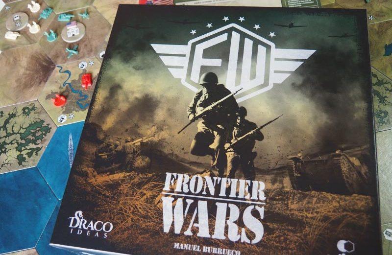 Frontier Wars, el nuevo juego de mesa de la 2ª Guerra Mundial