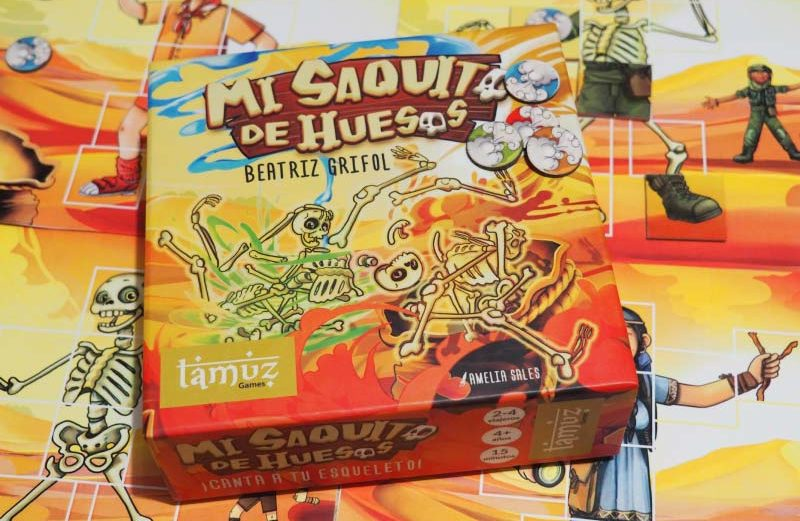 Mi Saquito de Huesos, el nuevo juego de Tamuz Games