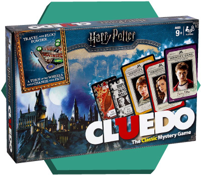 Portada de Cluedo Harry Potter