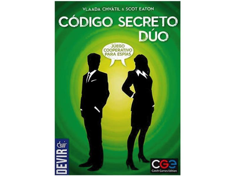 Portada del juego de mesa Código secreto: dúo