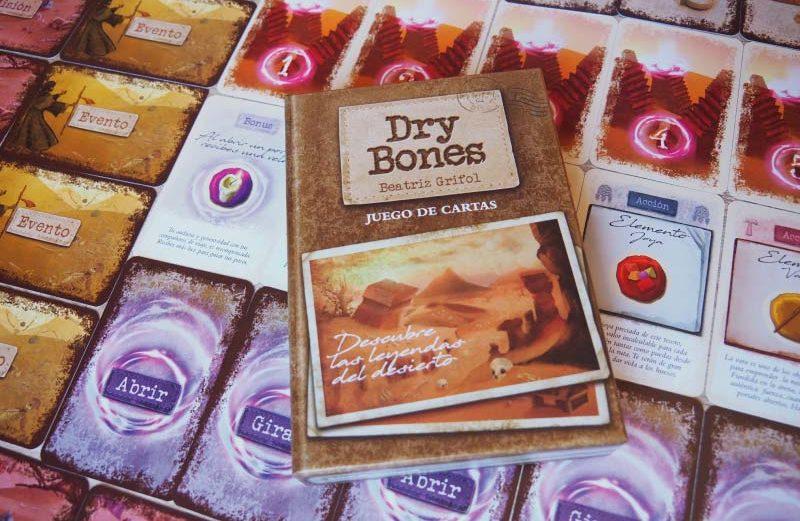 Dry Bones, el juego de mesa de viaje con el que vivir aventuras