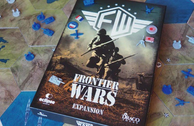 Expansión del juego de mesa Frontier Wars