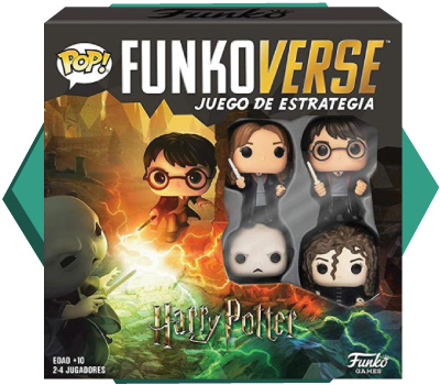 Portada de Funkoverse Harry Potter