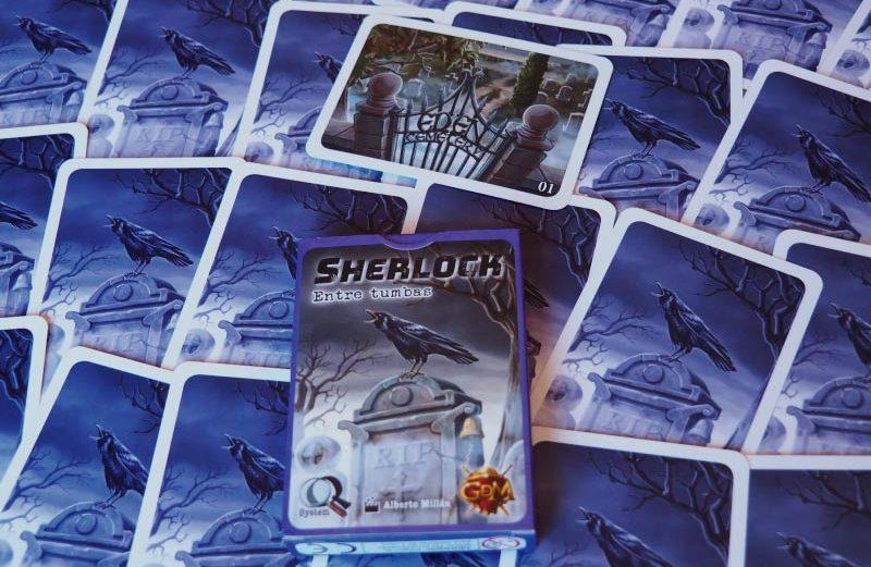 Sherlock: Entre tumbas, juego de mesa de deducción