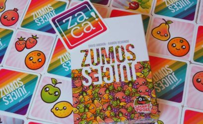Zumos es el juego de mesa de frutas de Zacatrus y Smart Troll Games