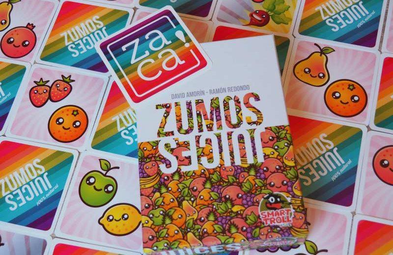 Zumos, el juego de mesa donde exprimirás tu fruta
