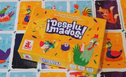 ¡Desplumados! es un juego de mesa de la editorial Venatus Ediciones