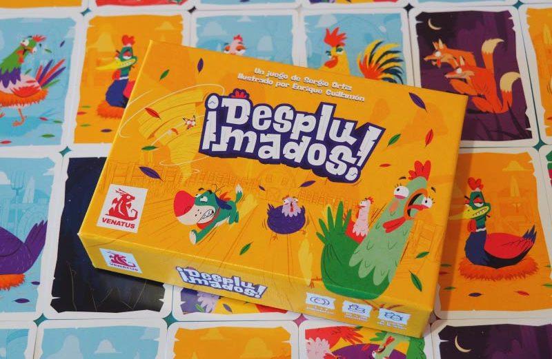 ¡Desplumados! un juego de mesa de conquista del gallinero