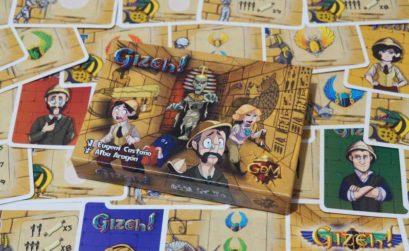 Gizeh! el juego de mesa cooperativo de GDM Games