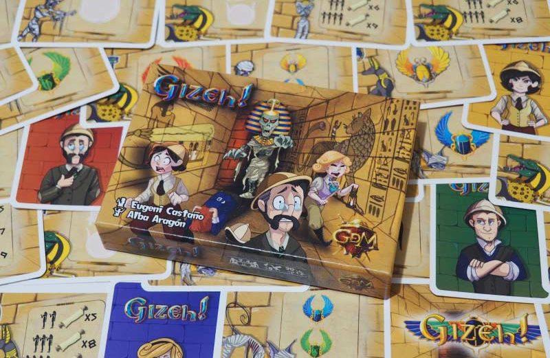 Gizeh! el juego de mesa que prueba nuestra memoria ¿quién se atreve?
