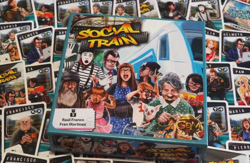 Social Train: el juego de mesa mitad tren mitad red social