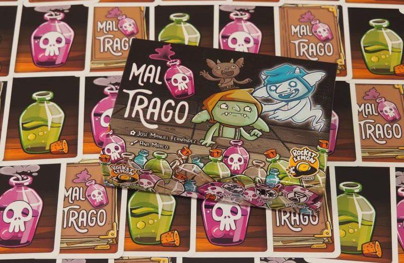 Mal Trago, el juego de mesa de los goblins kamikazes